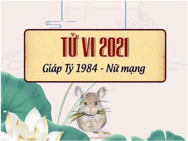 Tử vi tuổi Giáp Tý năm 2021 nữ mạng